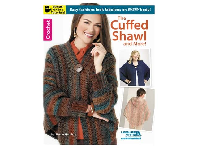 Leisure Arts The Cuffed Shawl & More Crochet Book