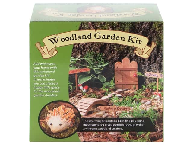 Leisure Arts Kit Woodland Garden
