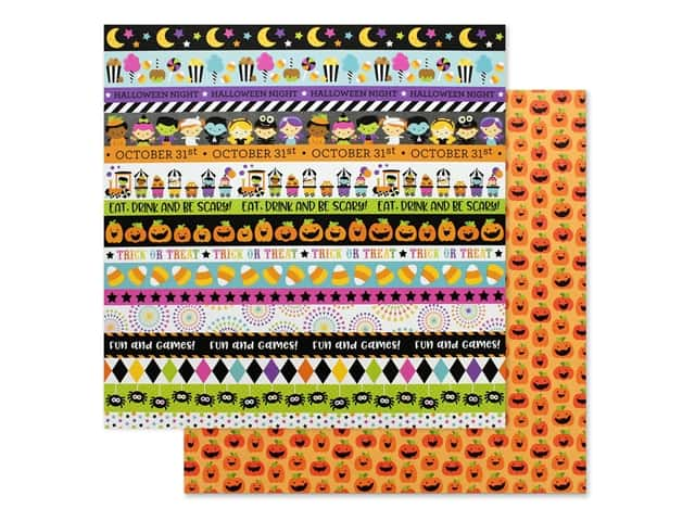 Doodlebug 12 x 12 in. Paper Candy Carnival Carving Contest