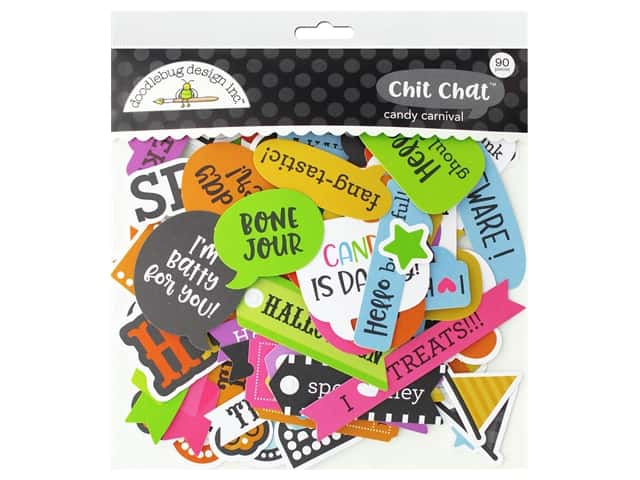 Doodlebug Chit Chat Candy Carnival