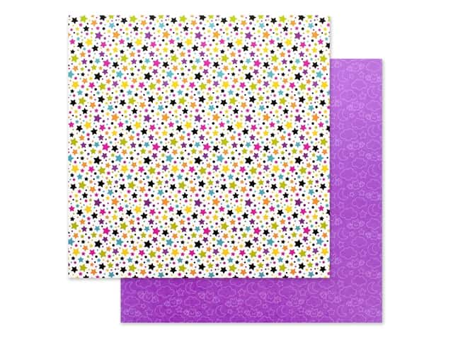 Doodlebug 12 x 12 in. Paper Candy Carnival Star Attraction