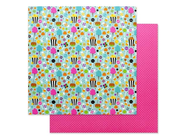 Doodlebug 12 x 12 in. Paper Candy Carnival Sugar Rush