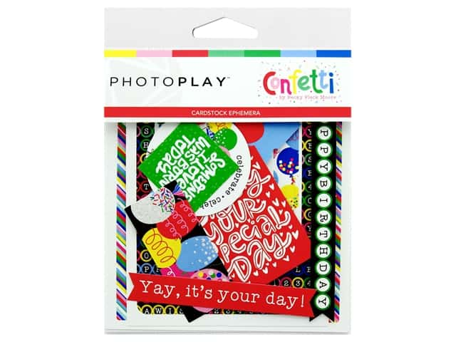 Photo Play Ephemera Confetti