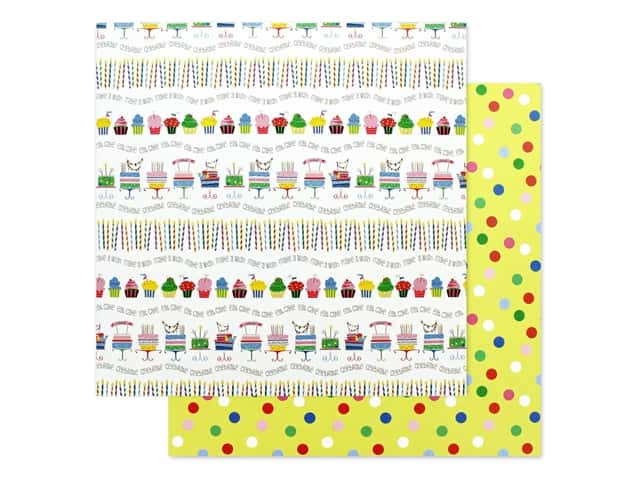 Photo Play 12 x 12 in. Paper Confetti Let's Party
