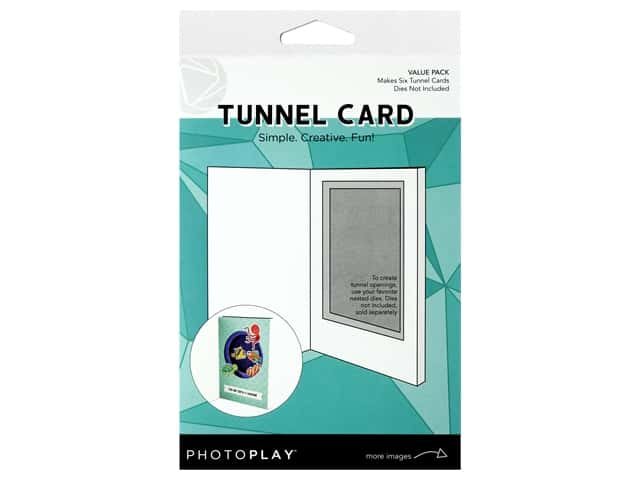 Photo Play Kit Tunnel Card Value Pack