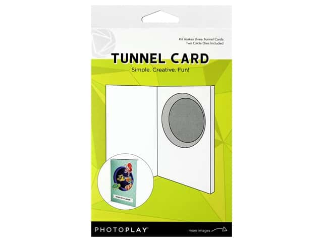 Photo Play Kit Tunnel Cards With Circle Die