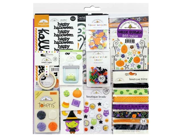 Doodlebug Kit Value Bundle Hocus Pocus