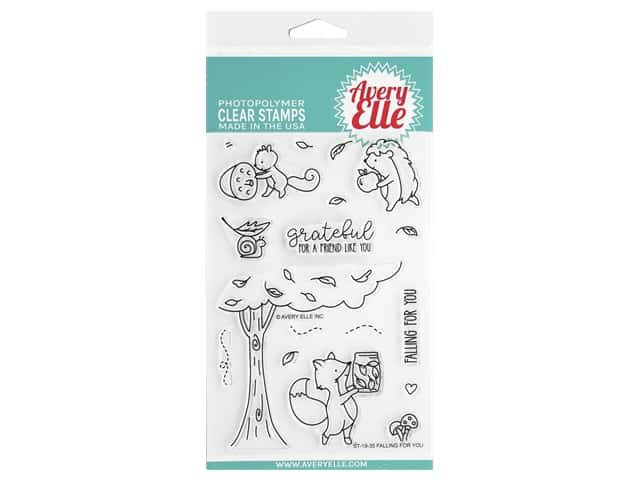 Avery Elle Clear Stamp Falling For You