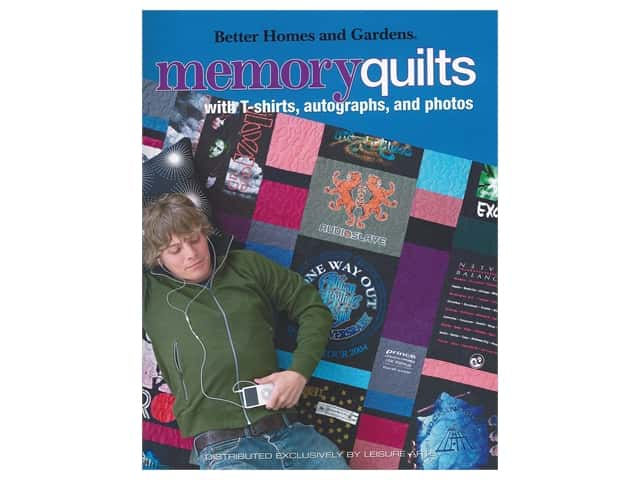 Leisure Arts Better Homes And Gardens Memory Quilts Book