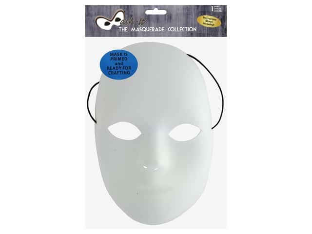 Midwest Design Mask It Full Mask 8.5 in. White