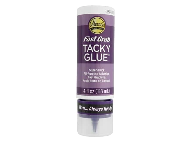 Aleene's Always Ready Fast Grab Tacky Glue 4 oz.