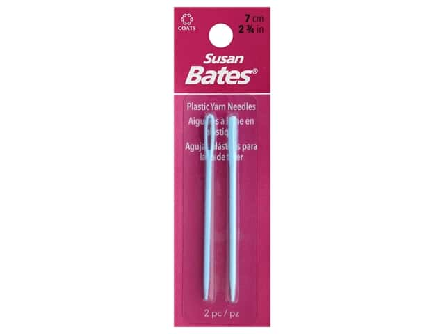 Susan Bates Luxite Yarn Needle 2 3/4 in. 2 pc.