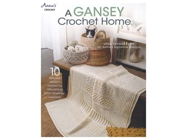 Annie's A Gansey Crochet Home Book