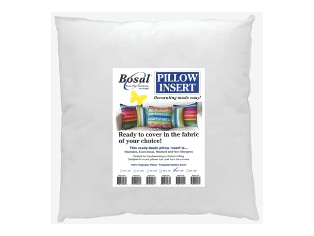 Bosal Pillow Insert Jelly Roll 20 in.