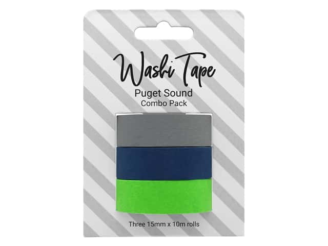 PA Essentials Washi Tape Combo Pack 3 pc. Puget Sound