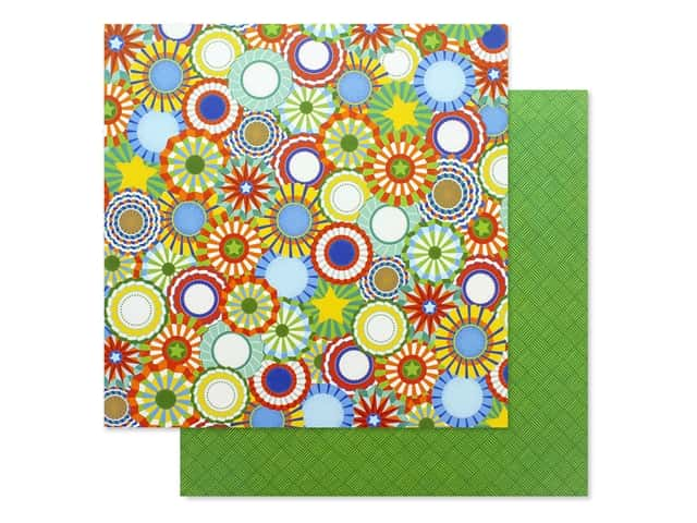 Photo Play 12 x 12 in. Paper State Fair Rosettes