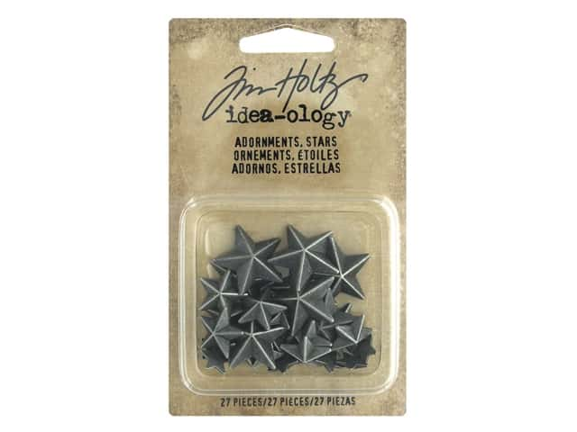 Tim Holtz Idea-ology Adornments Stars