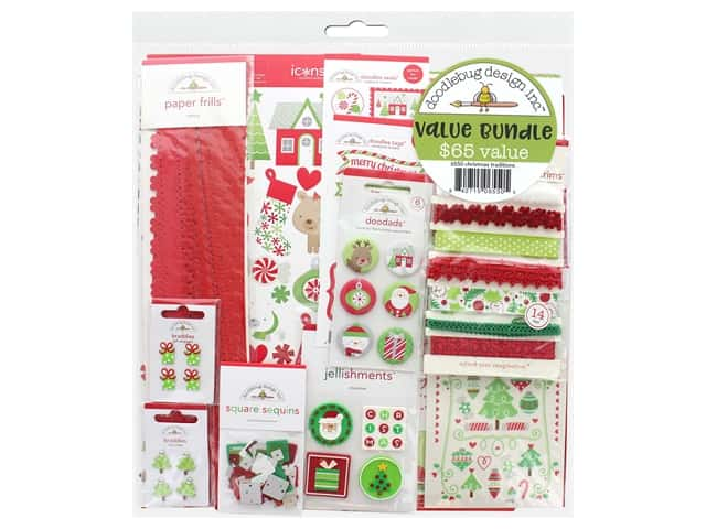 Doodlebug Kit Value Bundle Christmas Traditions