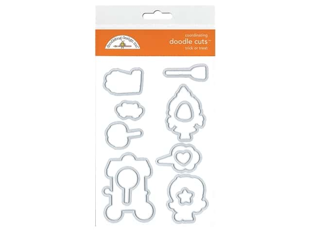 Doodlebug Collection Candy Carnival Doodle Cuts Die Trick Or Treat