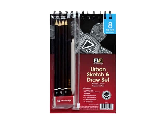 Art Advantage Urban Sketch & Draw Set