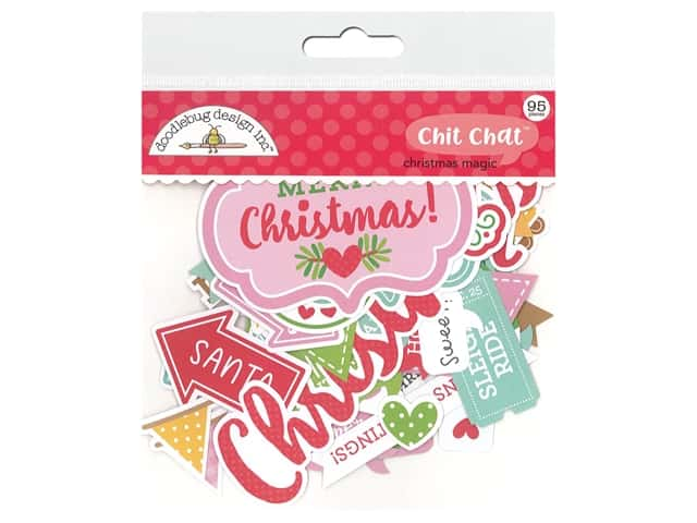 Doodlebug Collection Christmas Magic Chit Chat