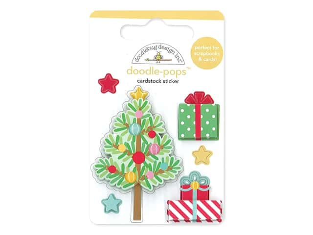 Doodlebug Collection Christmas Magic Doodle Pops Trim The Tree