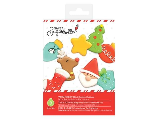 American Crafts Collection Sweet Sugarbelle Cookie Cutter Christmas Very Merry Mini