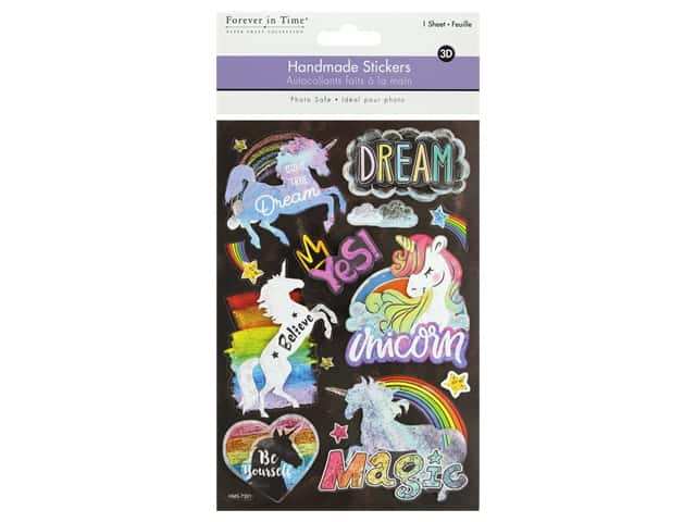 Multicraft Sticker 3D Handmade Unicorn