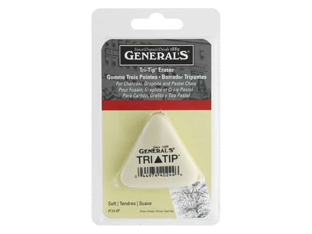 General's Tri-Tip Multi Purpose Eraser Soft