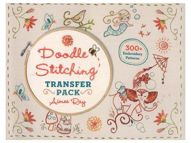 Lark Doodle Stitching Transfer Pack Book