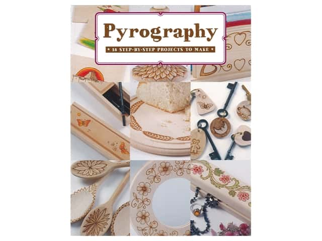 Guild of Master Craftsman Pyrography 18 Step-By-Step Projects To Make Book