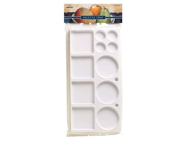 Pro Art Palette Tray Rectangle Plastic 11 Well