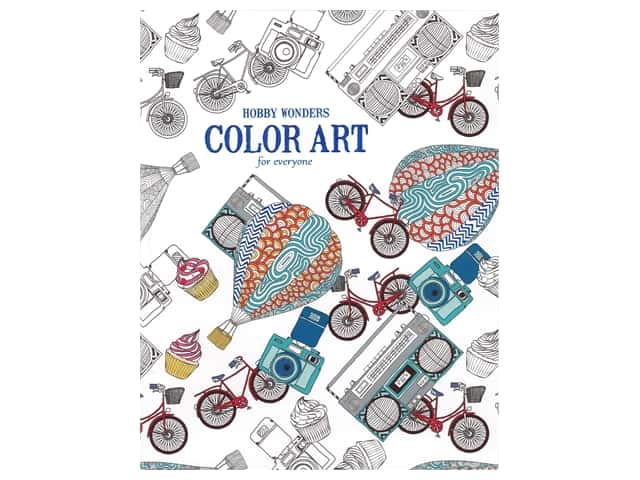 Hobby Wonders: Color Art for Everyone Coloring Book