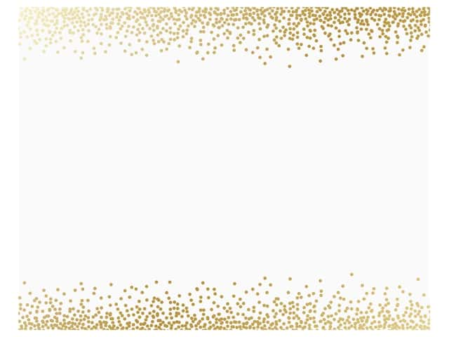 American Crafts Poster Board 22 x 28 in. Foil Confetti