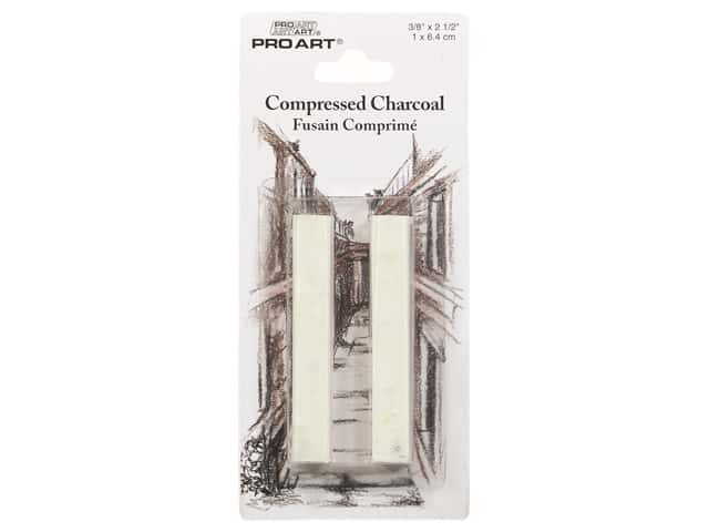 Pro Art Compressed Charcoal White 2pc
