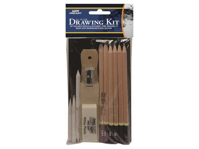 Pro Art All In One Drawing Set