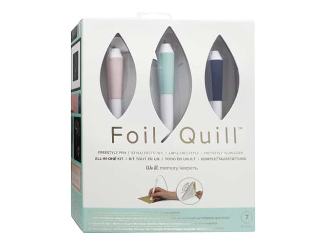 We R Memory Keepers Foil Quill Freestyle Pen All-in-One Kit
