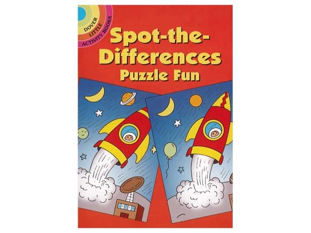 Dover Publications Little Spot-The-Differences Puzzle Fun Book