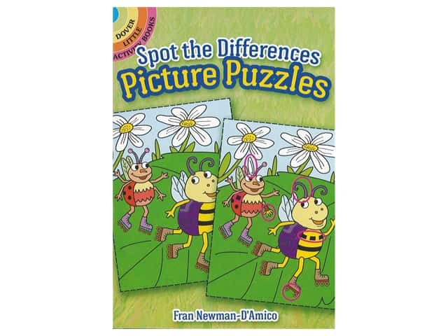 Dover Publications Little Spot The Differences Picture Book