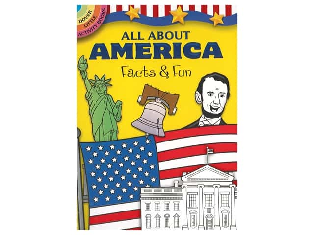 Dover Publications Little All About America: Facts & Fun Book