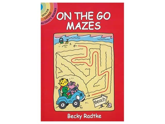 Dover Publications Little On The Go Mazes Book