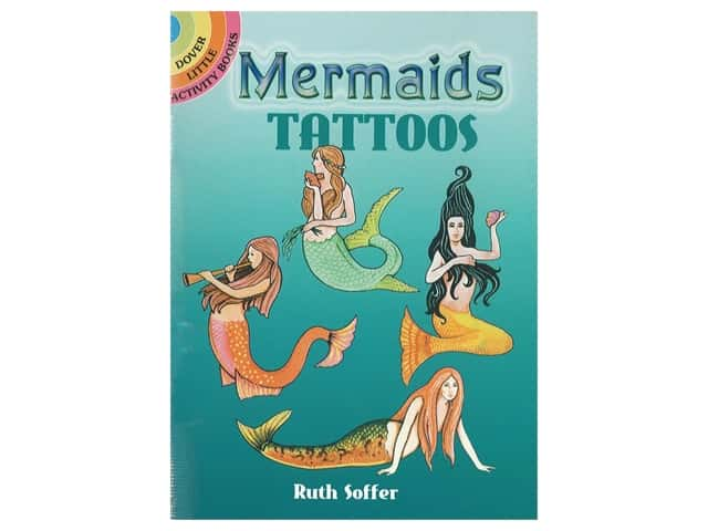 Dover Publications Little Mermaids Tattoos Book