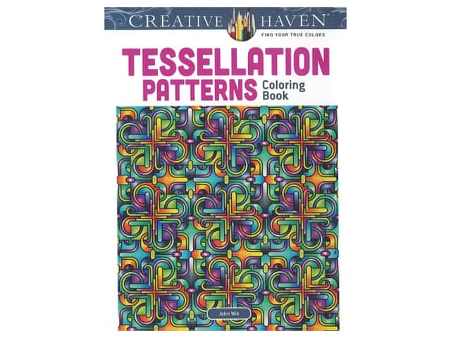 Dover Publications Creative Haven Tessellation Patterns Coloring Book