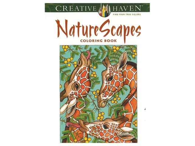 Dover Publications Creative Haven NatureScapes Coloring Book