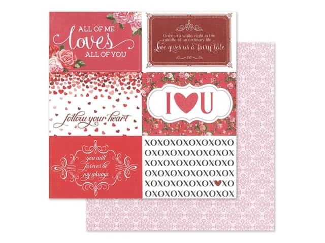 Photo Play 12 x 12 in. Paper Be Mine Follow Your Heart
