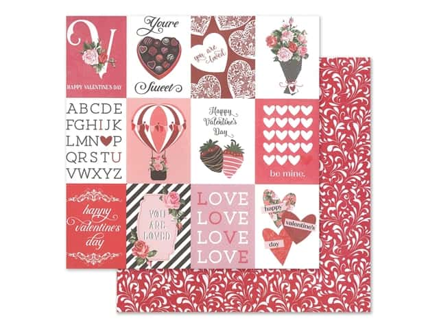 Photo Play 12 x 12 in. Paper Be Mine You're Sweet