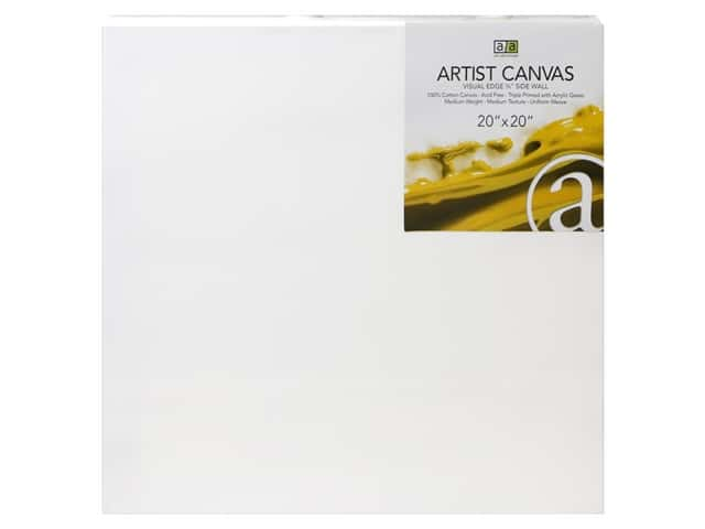 Art Advantage Artist Canvas 20 x 20 in.