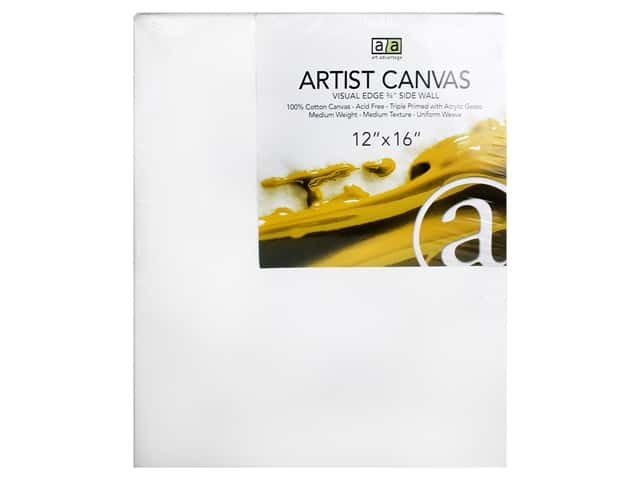 Art Advantage Artist Canvas 12 x 16 in.