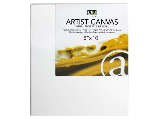 Art Advantage Artist Canvas 8 x 10 in.