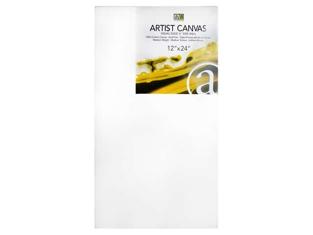 Art Advantage Artist Canvas 12 x 24 in.